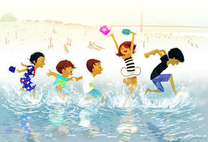 Beach Day, SF by PascalCampion