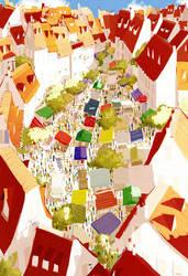 Market Day by PascalCampion