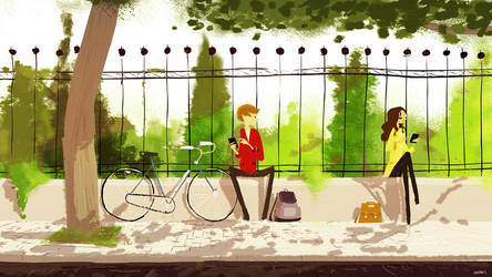 One Morning by PascalCampion