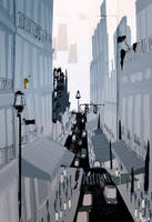 Morning in the city by PascalCampion