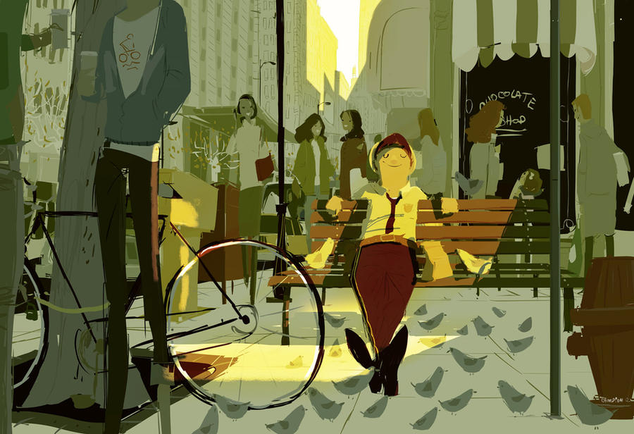 Off Duty by PascalCampion