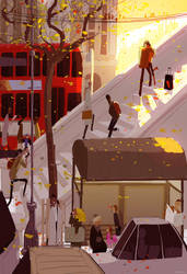 One Tuesday in Fall by PascalCampion