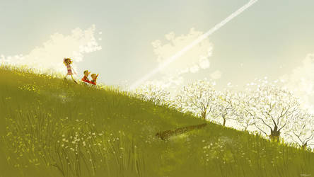Up in the sky by PascalCampion