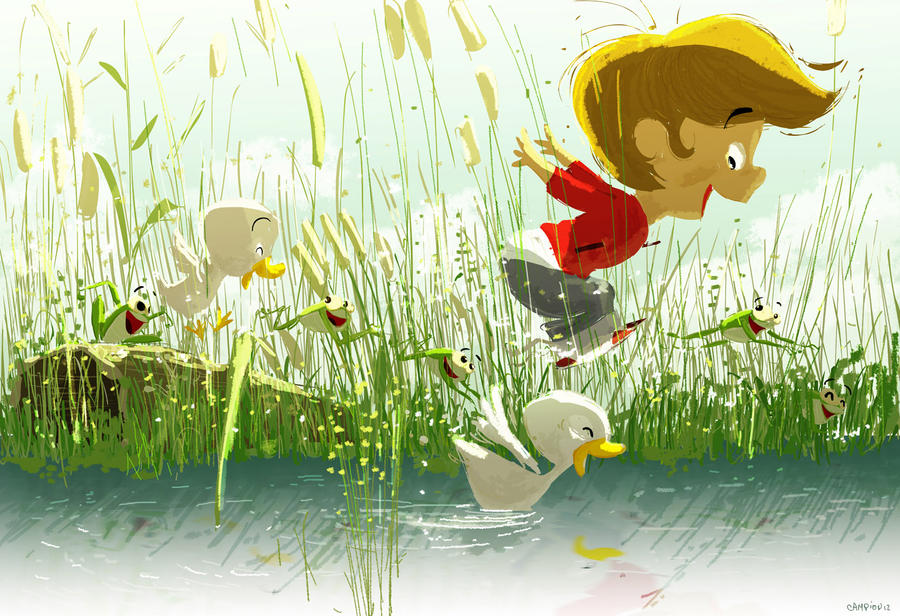 Jumping Jack Frogs by PascalCampion