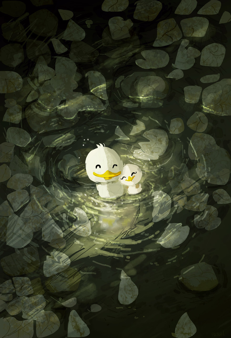 Pond by PascalCampion
