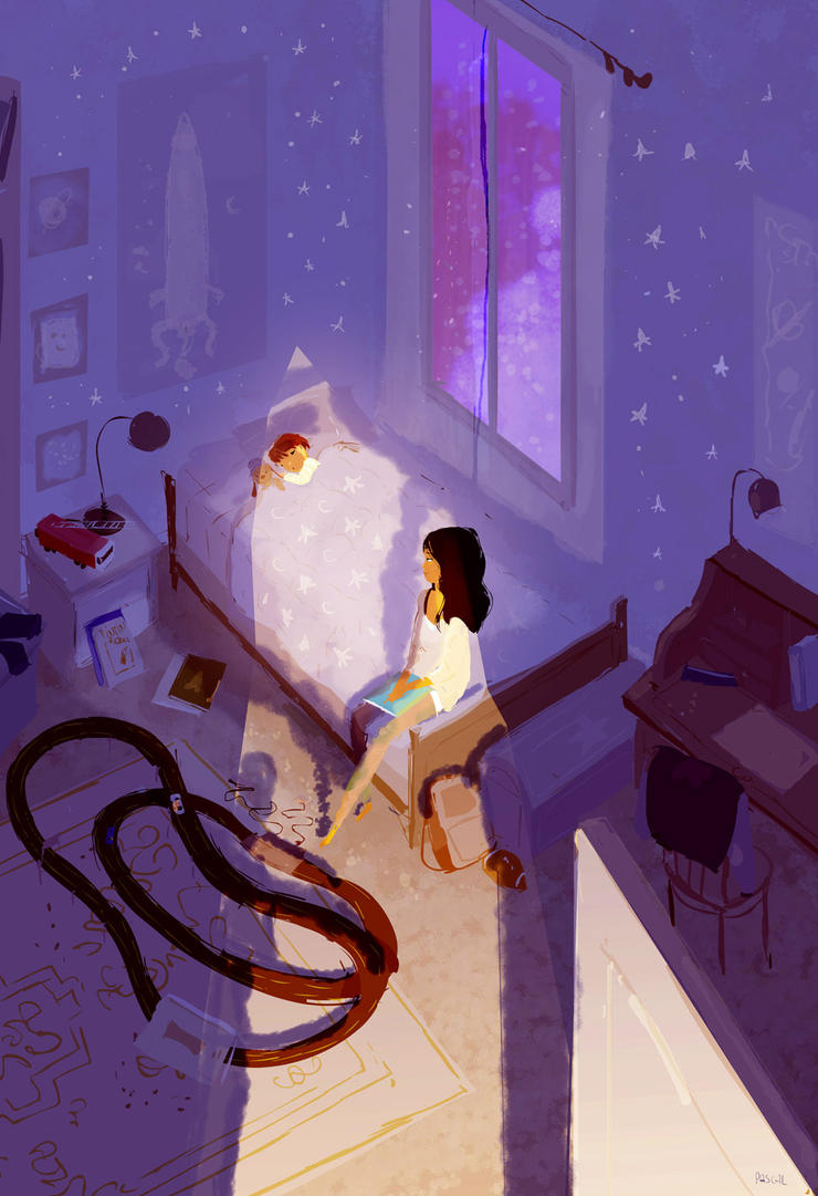 And this is where this story ends. by PascalCampion