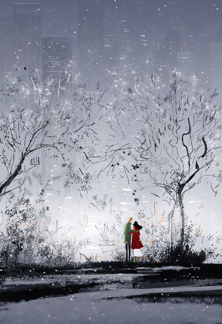 A Winter afternoon. by PascalCampion
