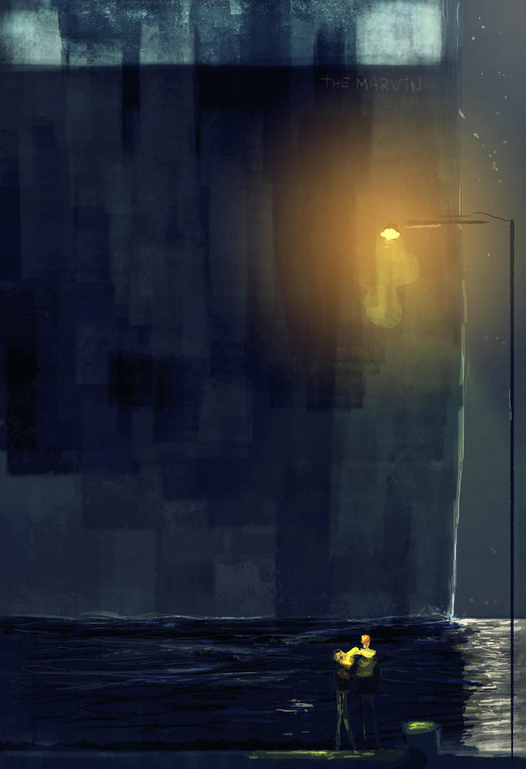 Watching the ships go by.. by PascalCampion