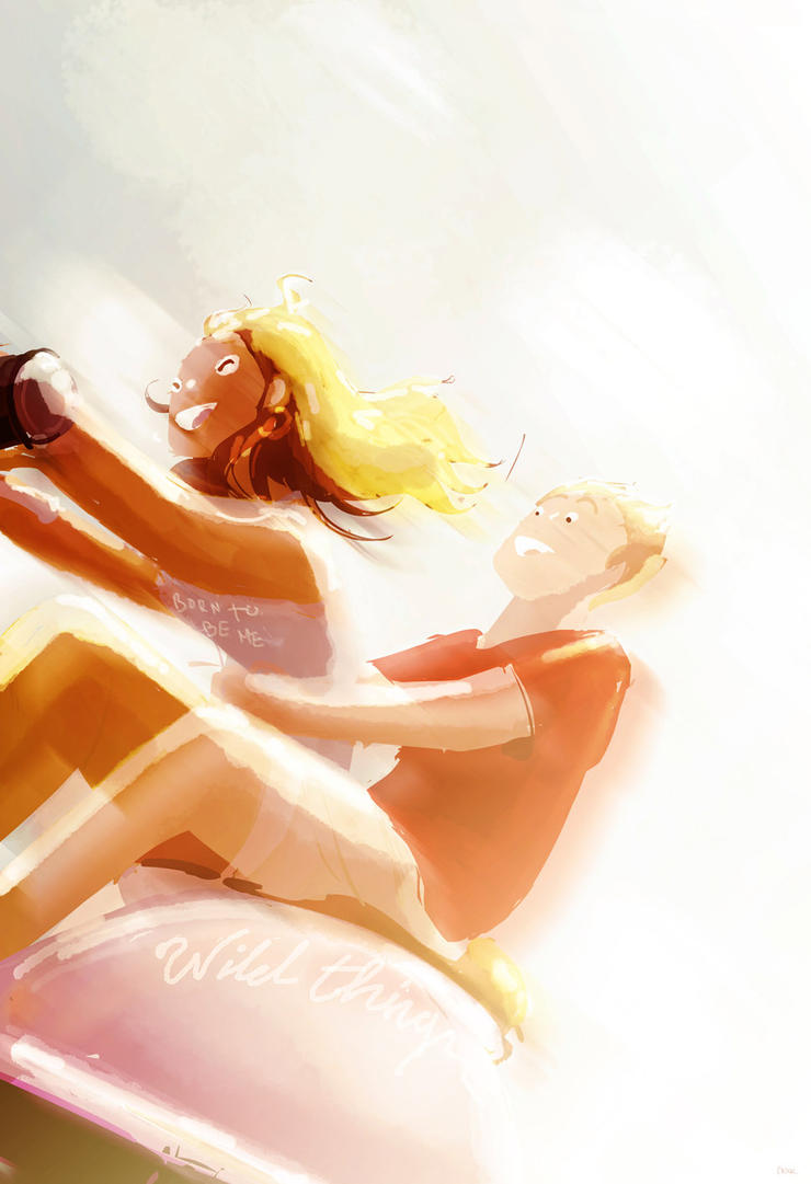 All I could think of was how good her hair smelled by PascalCampion