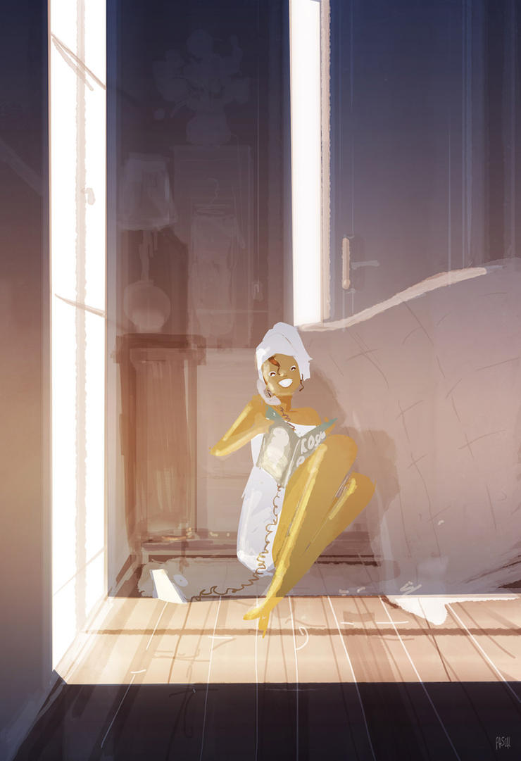 Girl talk. by PascalCampion