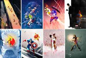 Marvel Covers