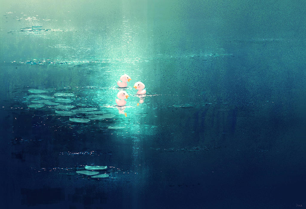 Pond stories. by PascalCampion