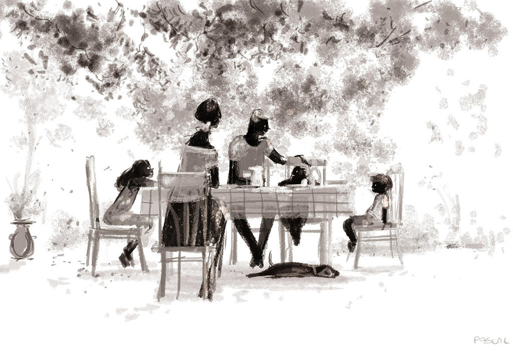 Summer Lunches. by PascalCampion
