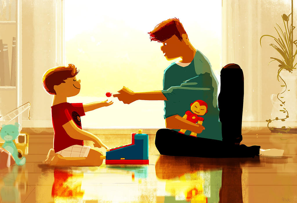 Playing store. by PascalCampion