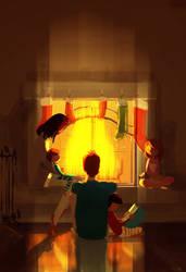 Fireplace season!!! by PascalCampion