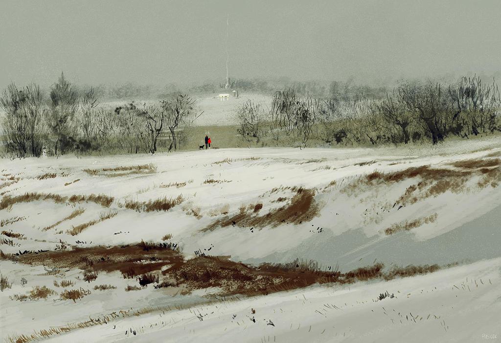 January. by PascalCampion