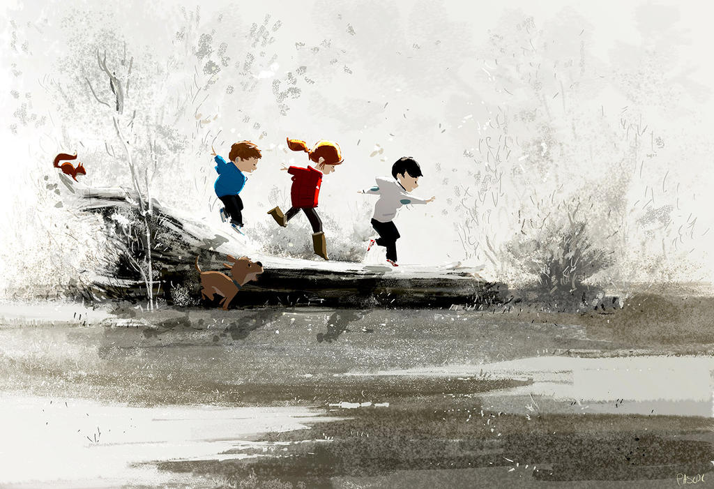 Winter play by PascalCampion
