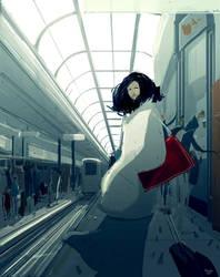 Good bye. by PascalCampion