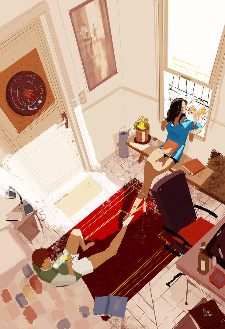 Saturday Late morning. by PascalCampion