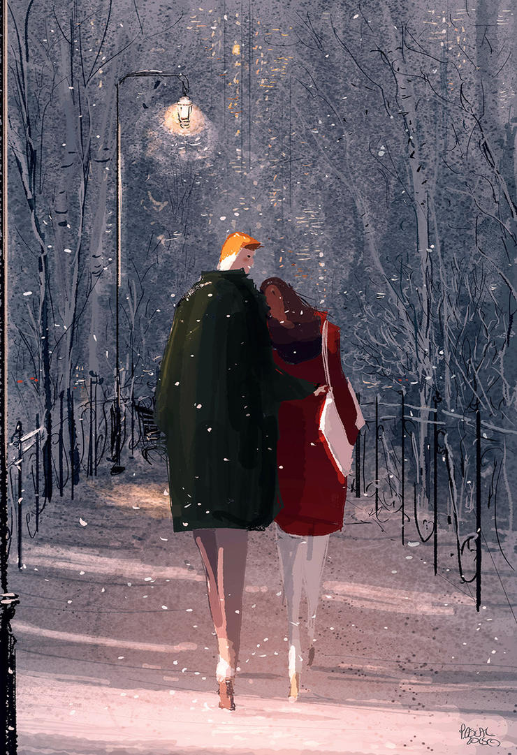 Cold night,  warm memories by PascalCampion