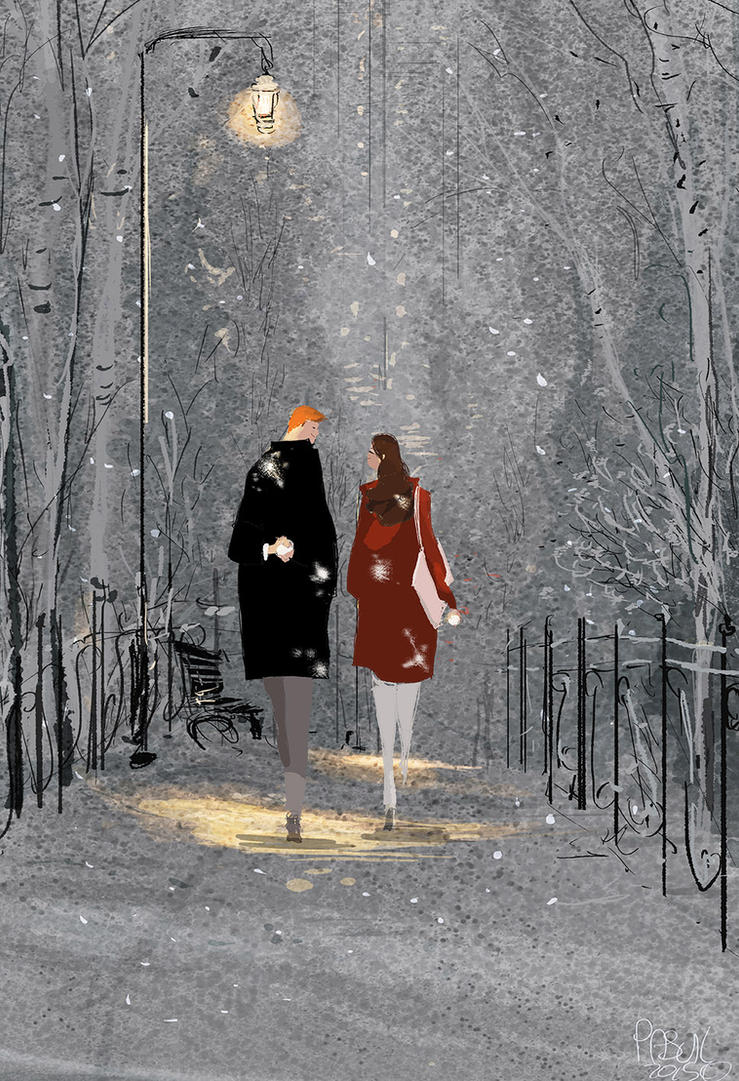 Cold night,  warm memories. Part two by PascalCampion