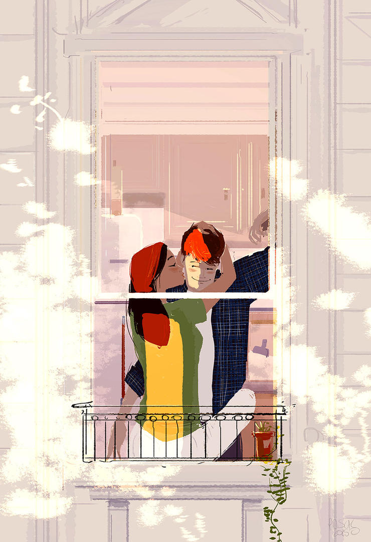 How about... by PascalCampion