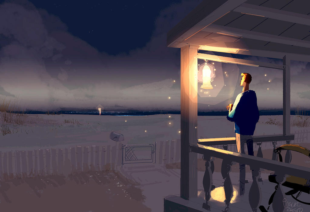 A Porch light kind of evening. by PascalCampion