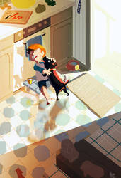 I had a dog named Thunder. by PascalCampion