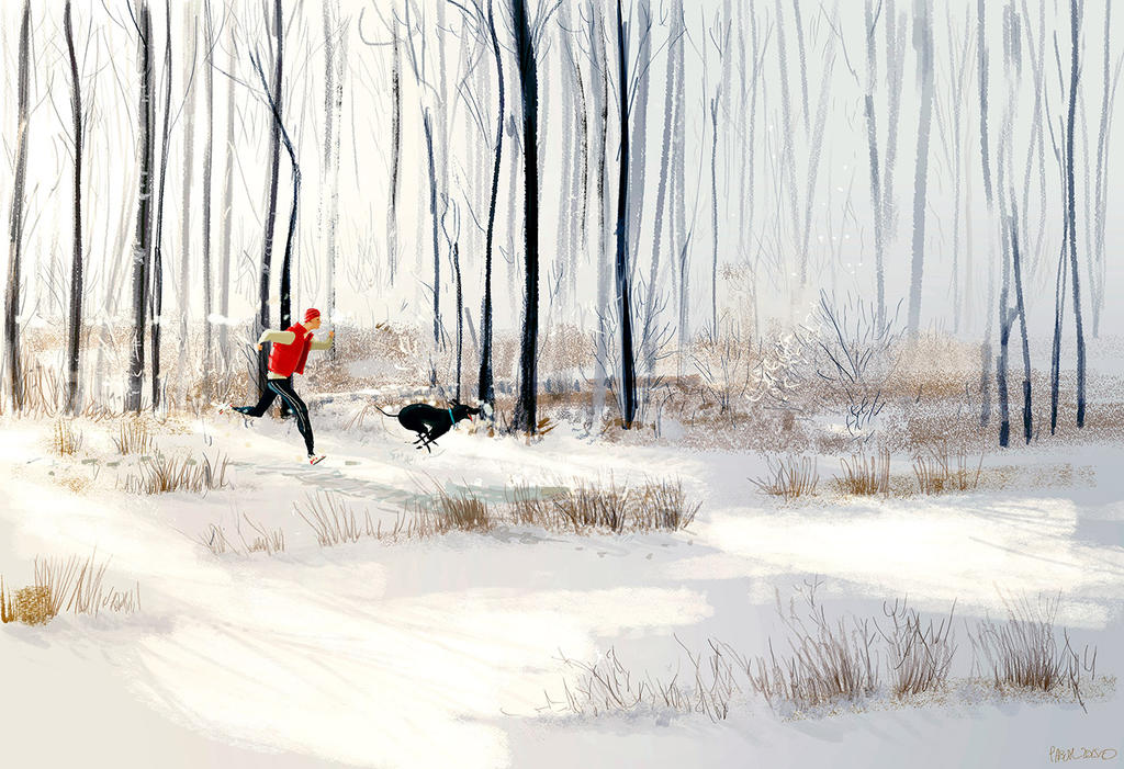 The long run by PascalCampion