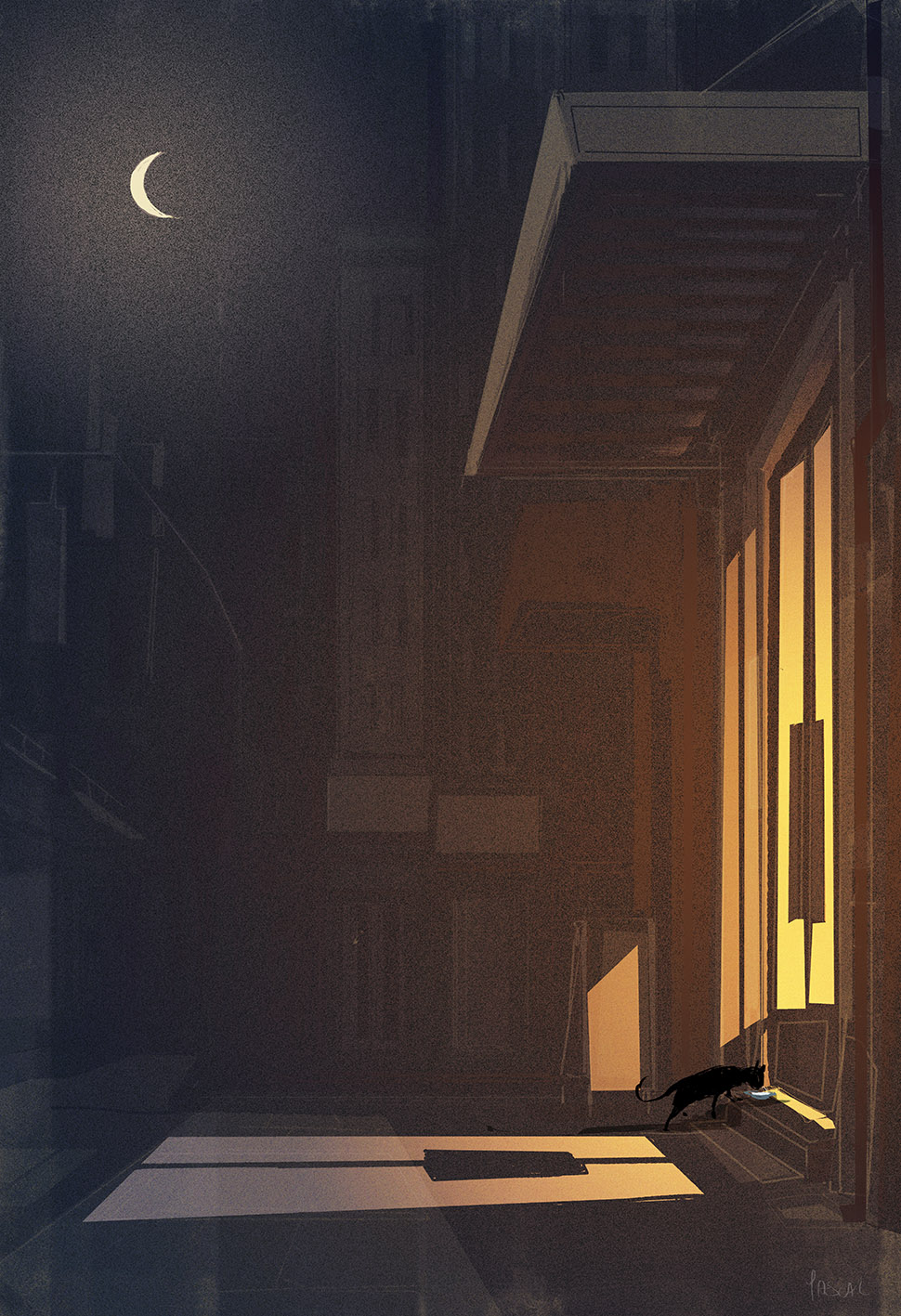 The cat came back. by PascalCampion