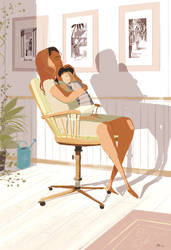 Mommy s arms. by PascalCampion