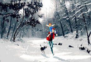 An early winter by PascalCampion