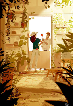 That  one rose in the garden. by PascalCampion