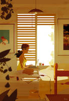 The writer. by PascalCampion