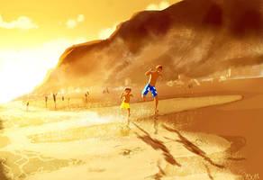 Zuma Beach. by PascalCampion