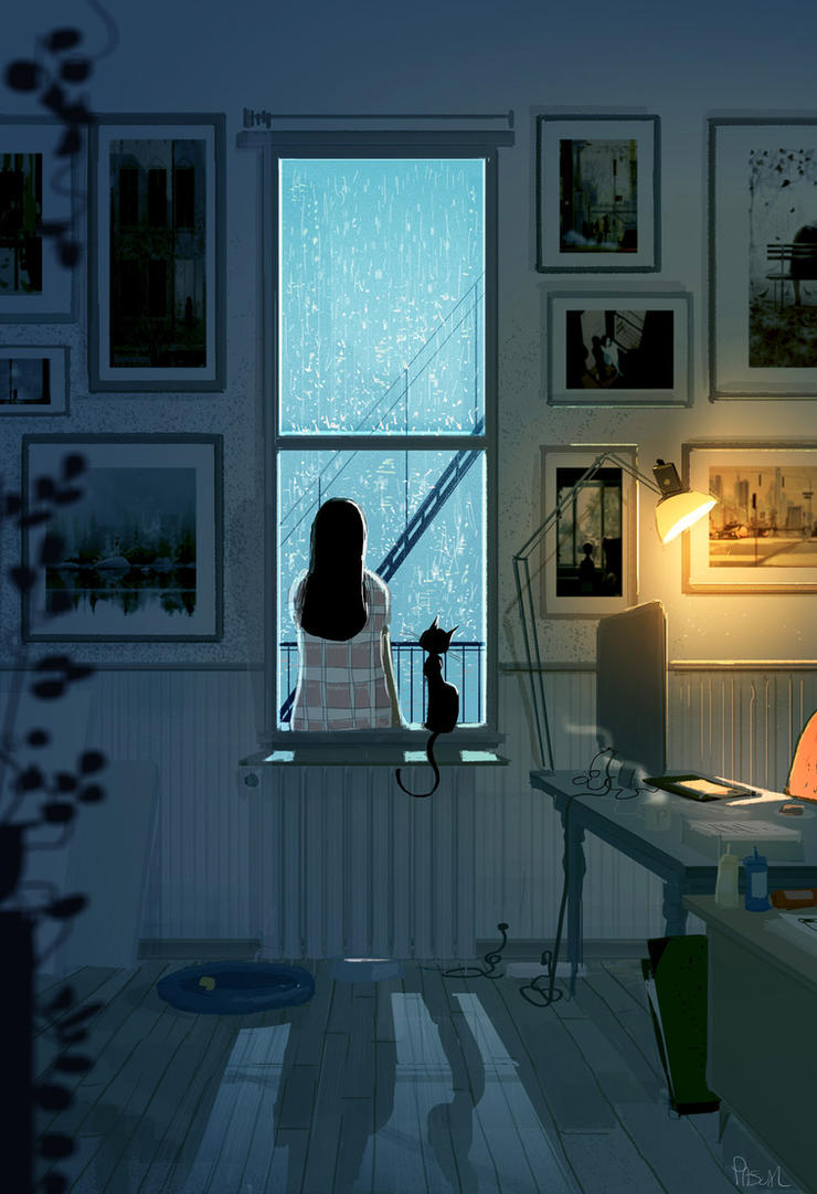 It s an Artist block kind of day. by PascalCampion