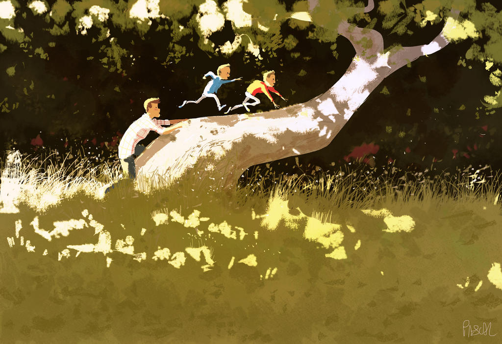 Sometimes, all you need is a tree! by PascalCampion