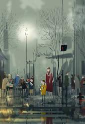 Street fair.