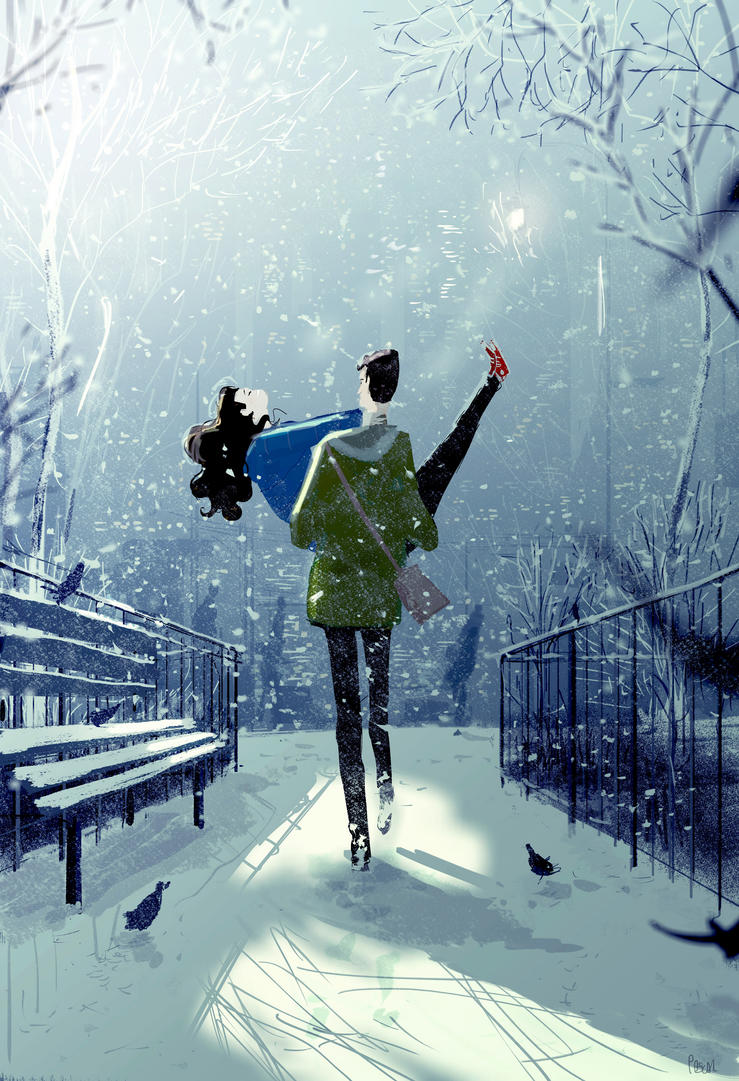 September snow day. by PascalCampion