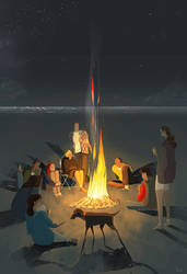 Crackling. by PascalCampion
