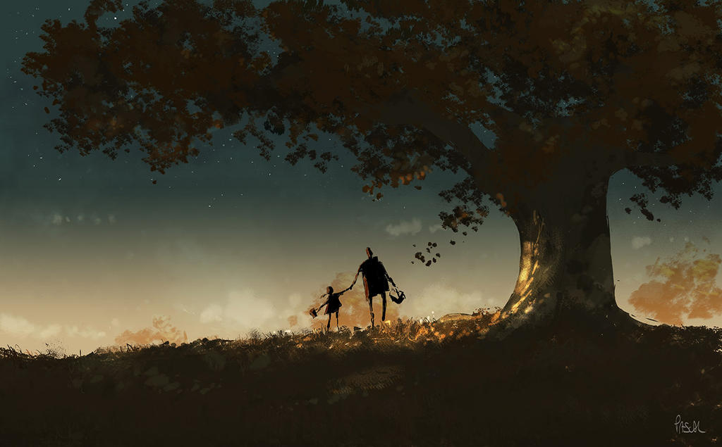 Picking Berries. by PascalCampion
