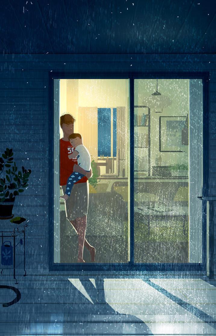 Awake at night by PascalCampion
