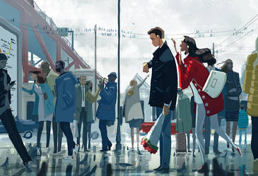 Meet me at five? by PascalCampion