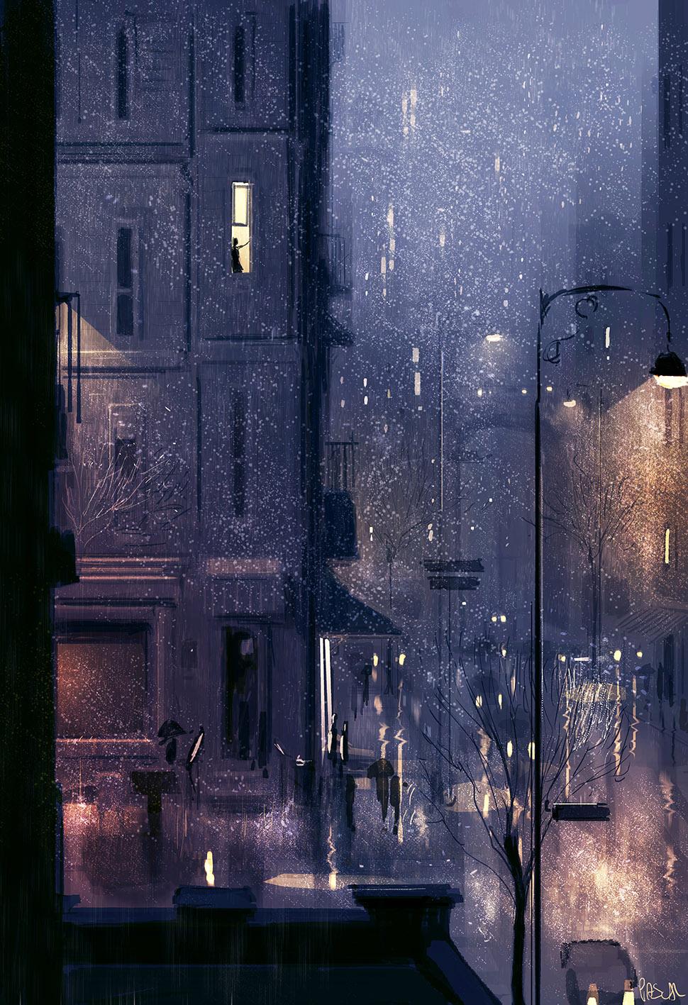 Rainy January by PascalCampion