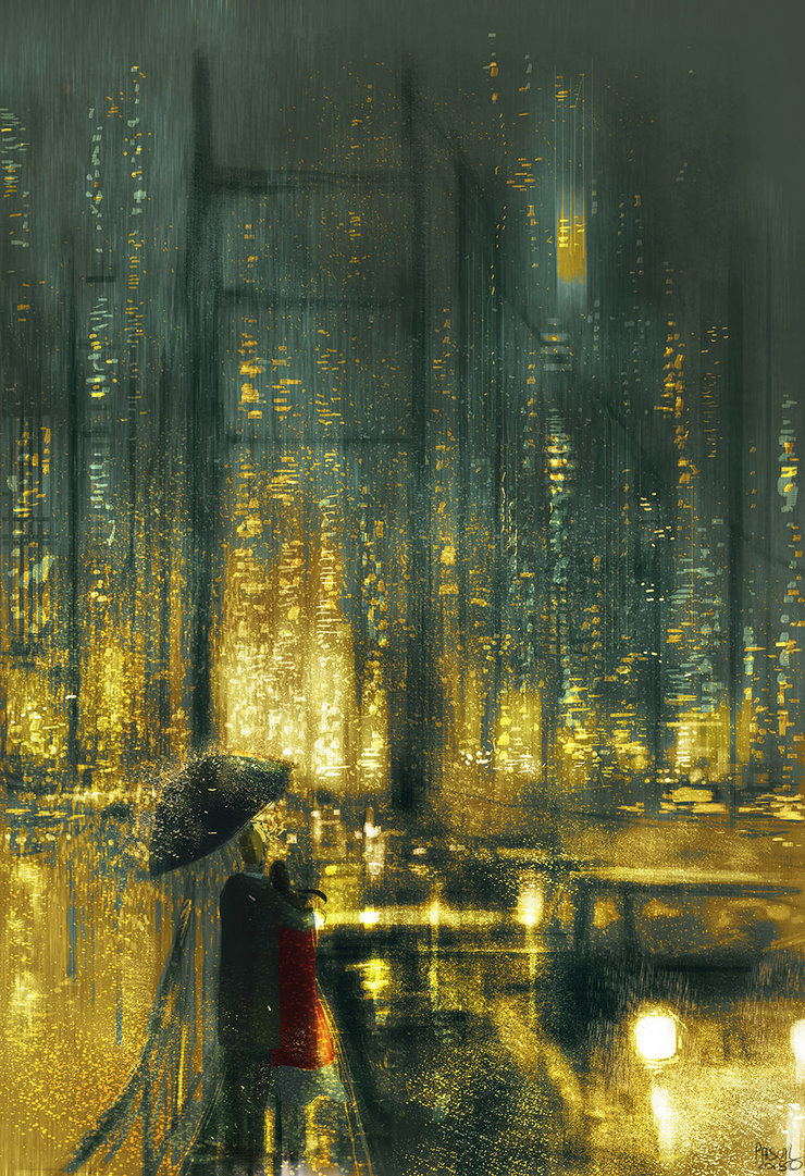 Another rainy night in San Francisco (2015) by PascalCampion