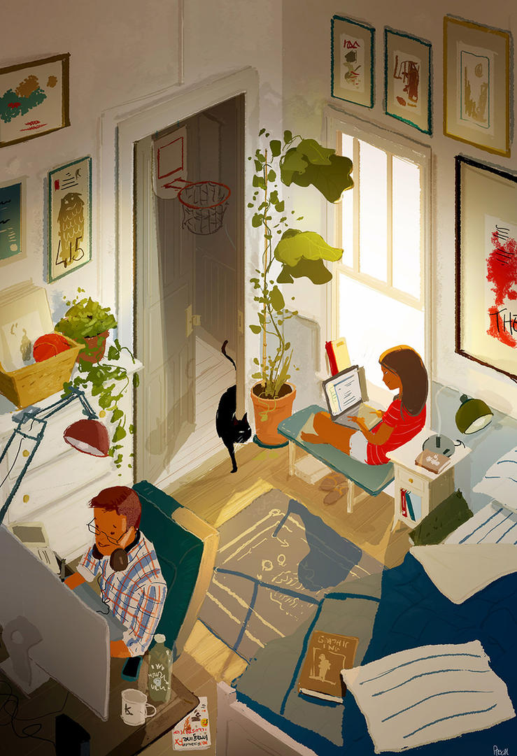 Working session. by PascalCampion