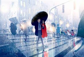 Even on a rainy day. by PascalCampion