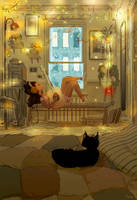 Definitely going to be a love song. by PascalCampion