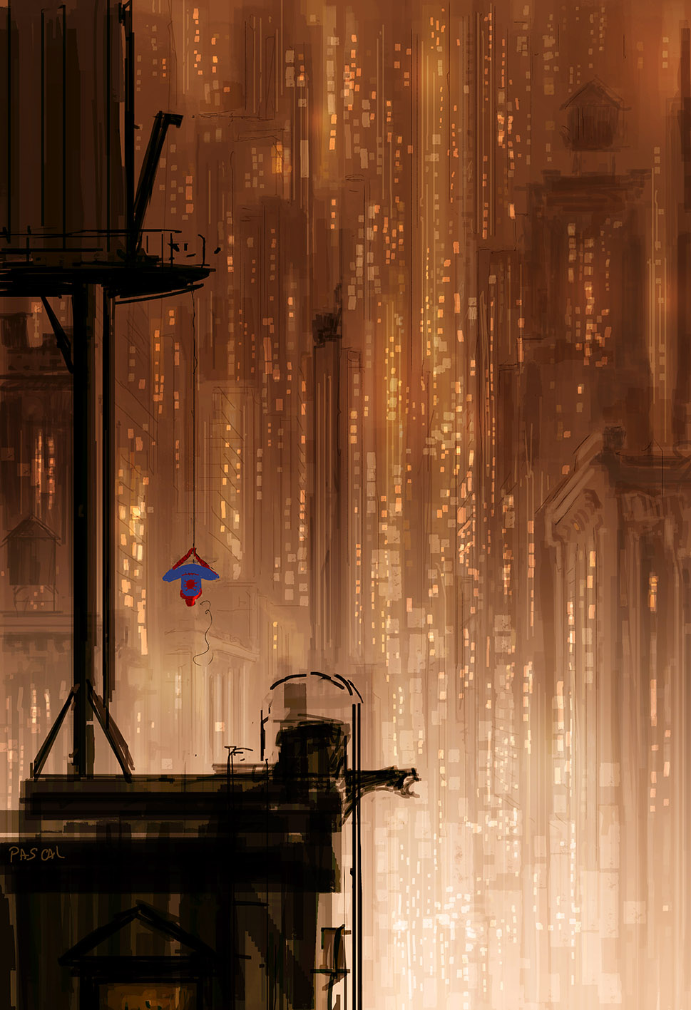 Spider-Man by Pascal C&ion ... & posts from ImaginaryMindscapes ImaginaryRivers ... azcodes.com