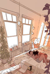 Mid to (very) late Afternoon by PascalCampion
